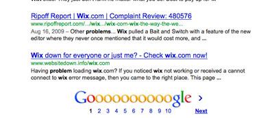 wixcomplaint